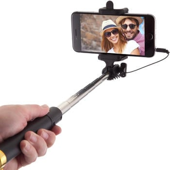 Power Theory Universal Selfie Stick ohne Bluetooth und Batterien gold