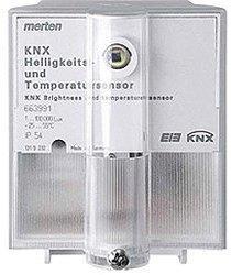 Merten KNX Helligkeits- und Temperatursensor 663991