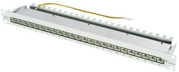 "Telegärtner 19"" Patch Panel Cat6A 24 Port"