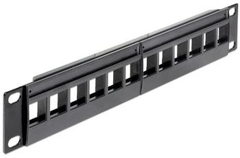"DeLock 12 Ports Patchpanel 10"" 1U (43259)"