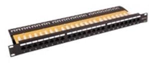 EFB Elektronik EcoLan Patchpanel 24xRJ45 1U Cat.6 GHMT De-embedded