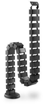 Digitus Flexible Kabelführung mit anpassbarer Länge schwarz (DA-90505)
