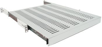 """LogiLink 19"""" Ausziehbarer Fachboden für 600 mm tiefe Schränke grau"""