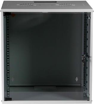 "EFB Elektronik 19"" 12HE Wandgehäuse Basic FP grau (WGB-1912GR.60)"