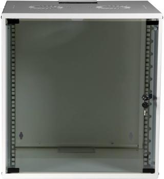 "EFB Elektronik 19"" 12HE Wandgehäuse Basic Flat Pack weiß (WGB-1912WS.60)"