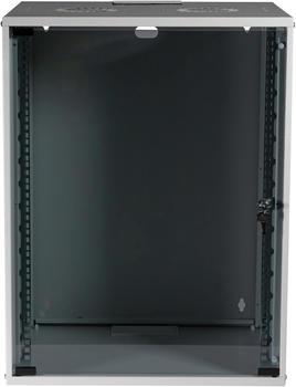 "EFB Elektronik 19"" 15HE Wandgehäuse Basic Flat Pack grau (WGB-1915GR.60)"