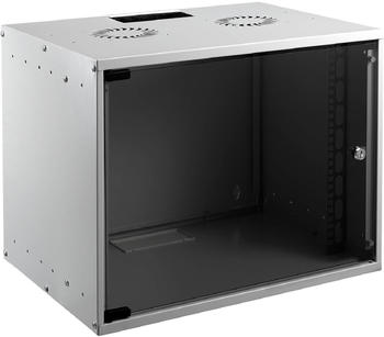 "EFB Elektronik 19"" 9HE Wandgehäuse Basic Flat Pack grau (WGB-1909GR.45)"