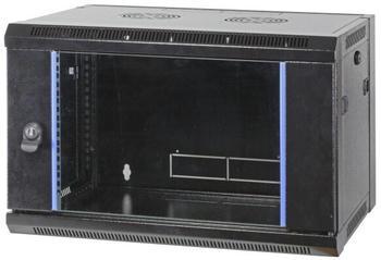 "EFB Elektronik 19"" Wandgehäuse Flat Pack 9HE schwarz (691709FTS.1)"