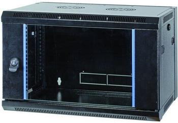 "EFB Elektronik 19"" Wandgehäuse Flat Pack schwarz (691715FTS.2)"
