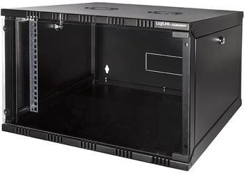 """Logilink LogiLink 19"""" SOHO Wandschrank 6HE 540 x 400 mm unmontiert schwarz (W06A40B)"""