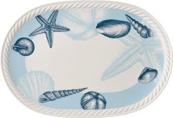 Villeroy & Boch Montauk Beachside Platte oval 43 x 30 cm