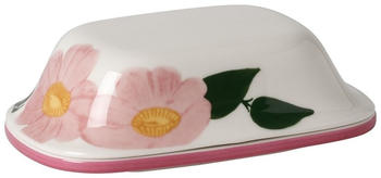 Villeroy & Boch Butterdose Rose Sauvage 2tlg Wildrose