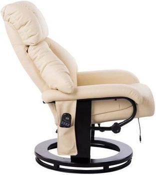 HomCom Relaxsessel 10 Point Massage mit Heizfunktion (700-008CW)