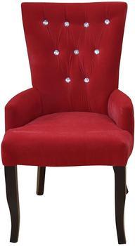 Heinz Hofmann Furniture Polstersessel 54 x 55 x 93 cm rot