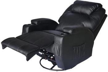 HomCom Relaxsessel mit Massagefunktion und Heizfunktion