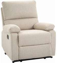 HOMCOM HomCom Relaxsessel 150° neigbar Leinen
