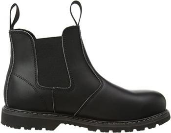 Amblers Unisex Steel FS5 Pull On Dealer Boot black