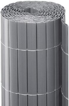 Noor Sichtschutzmatte PVC 90 x 300 cm silber