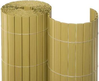 Noor Sichtschutzmatte PVC 90 cm x 10 m bambus