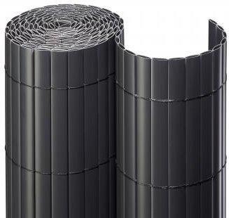 Noor Sichtschutzmatte PVC 120 x 300 cm anthrazit