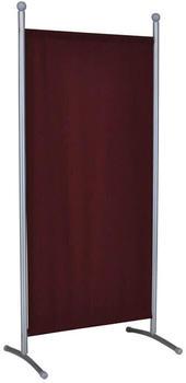 Angerer Stellwand 178x82cm Titansilber/Bordeaux (607.07)