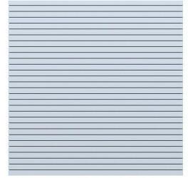 Brügmann TraumGarten TraumGarten System Rhombus 180x180cm weiß (2951)