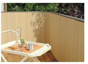 Floraworld PVC-Sichtschutzmatte Classic 90 x 300 cm bambus