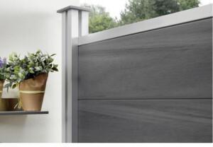 Osmo Multi-Fence Co-Extrusion Grundelement 180x178cm greystone (62579600)