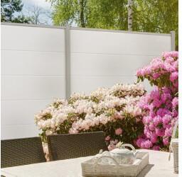 Groen & Janssen GroJa BasicLine Stecksystem Bausatz 180x180cm weiß (210715400300120)