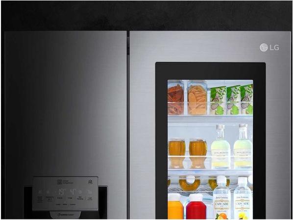 Side By Side Kühlschrank A Test : Lg gsx neaz side by side ab u ac günstig im
