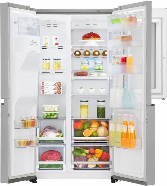 Lg Gsx960neaz Test Lg Side By Side Kühlschränke Auf Testberichtde