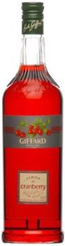 Giffard Cranberry Sirup 1l