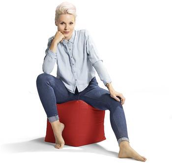 Sitting Point Sitzwürfel Cube Scuba rot