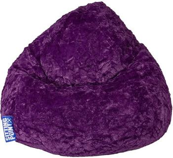 Sitting Point Fluffy L aubergine
