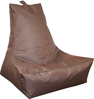 Kinzler Lounge-Sessel dunkelbraun
