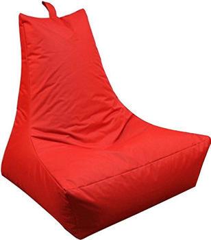 Kinzler Lounge-Sessel rot