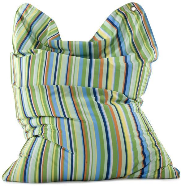 Sitting Bull Fashion Bull Stripes Green