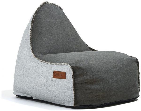 SACKit RETROit Cobana Sitzsack braun/weiß
