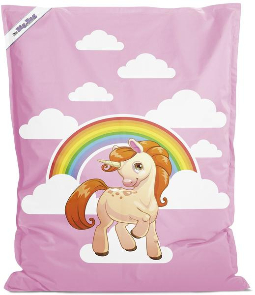 Sitting Point Little BigBag Unicorn rose 200L