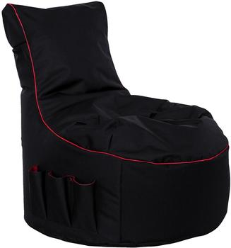 GAMEWAREZ Crimson Thunder Gaming Seatbag schwarz/rot (BBC03CT000)