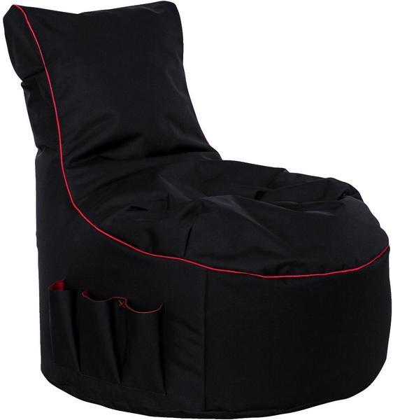 GAMEWAREZ Crimson Thunder Gaming Seatbag schwarz/rot (BBC03CT000)