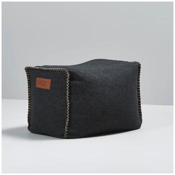 SACKit RETROit Cobana Square Pouf black