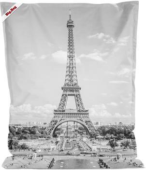 Sitting Point Big Bag Paris 380L Schwarz Weiß
