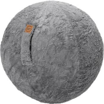 magma-heimtex-sitting-ball-fluffy-mittelgrau-80020-005