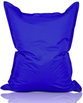 Lumaland Luxury Riesensitzsack XXL Indoor & Outdoor blau