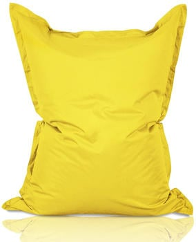 Lumaland Luxury Riesensitzsack XXL Indoor & Outdoor gelb