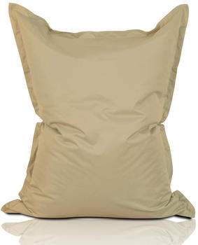 Lumaland Luxury Riesensitzsack XXL Indoor & Outdoor beige