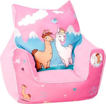 Knorrtoys Kinder-Sitzsack La-La-Lama Lounge