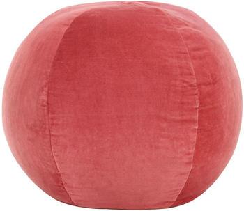 vidaXL Bean Bag Velvet Pink 50 x 35 cm