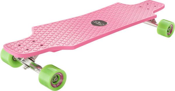 Hudora Longboard Fun Cruiser pink